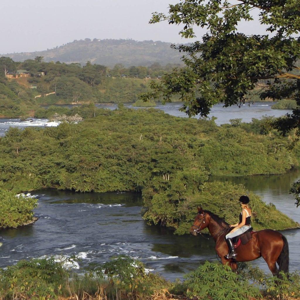 Uganda horseback holidays
